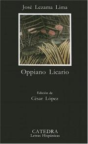 Cover of: Oppiano Licario