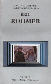 Cover of: Eric Rohmer