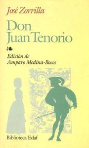 Cover of: Don Juan Tenorio