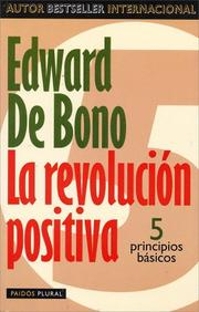 Cover of: La revolución positiva
