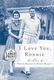Cover of: I love you, Ronnie