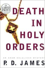 Cover of: Death in holy orders
