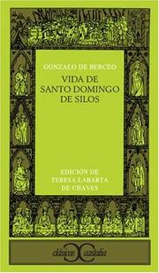 Cover of: Vida de Santo Domingo de Silos