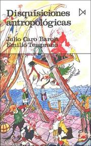 Cover of: Disquisiciones antropológicas