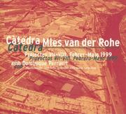 Cover of: Catedra Mies Van Der Rohe - 1999