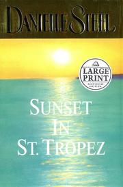 Cover of: Sunset in St. Tropez