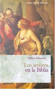 Cover of: Los amores en la Biblia