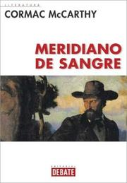 Cover of: Meridiano De Sangre
