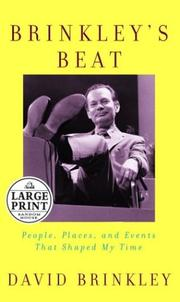Cover of: Brinkley's beat
