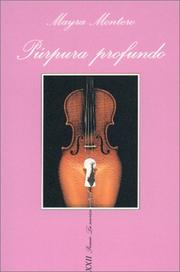 Cover of: Púrpura profundo