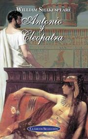 Antonio y Cleopatra by William Shakespeare