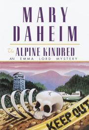 Cover of: The Alpine Kindred: An Emma Lord Mystery (Emma Lord Mysteries)