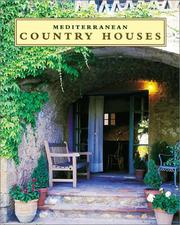 Cover of: Mediterranean Country Houses