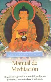 Cover of: Manual de Meditación