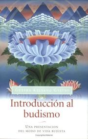 Cover of: Introducción al Budhismo