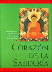 Cover of: Corazon de la Sabiduria