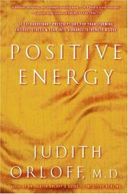 Cover of: Positive Energy | Judith Orloff