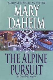 Cover of: The Alpine pursuit: An Emma Lord Mystery