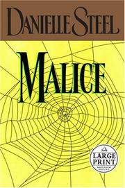 Cover of: Malice