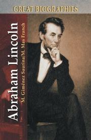 Abraham Lincoln (Great Biographies series) by Manuel Gimenez Saurina, Manuel Mas Franch