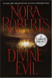 Cover of: Divine evil by Nora Roberts
