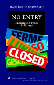 Cover of: No entry