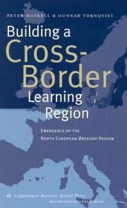 Cover of: Building a cross-border learning region