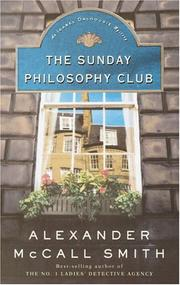Cover of: The Sunday Philosophy Club