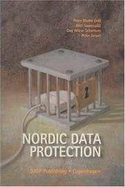 Cover of: Nordic data protection law |