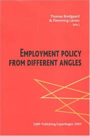 Cover of: Employment Policy from Different Angles |