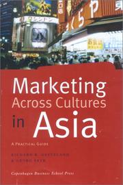 Cover of: Marketing Across Cultures in Asia