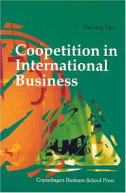 Cover of: Coopetition in International Business | Yadong Luo