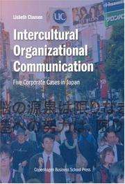 Cover of: Intercultural Organizational Communication | Lisbeth Clausen