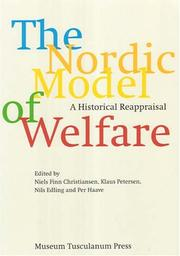 Cover of: The Nordic Model of Welfare |
