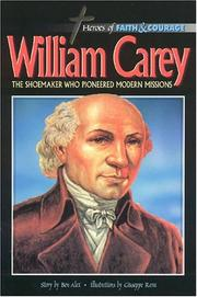 Cover of: William Carey | Ben Alex