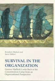 Cover of: Survival in the organization