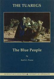 Cover of: Tuaregs the Blue People | Karl-G Prasse