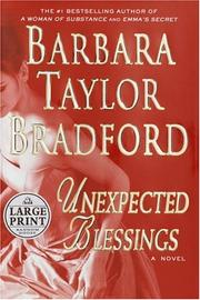 Cover of: Unexpected blessings