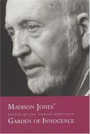 Cover of: Madison Jones