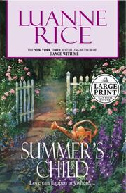 Cover of: Summer's child
