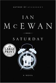 Cover of: Saturday by Ian McEwan