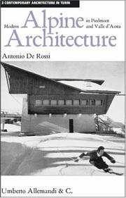 Modern Alpine Architecture in Piedmont and Valle d (Contpemporary Architecture in Turin)