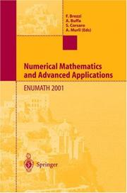Cover of: Numerical mathematics and advanced applications | ENUMATH 2001 (2001 Ischia, Italy)