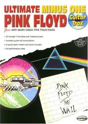 Cover of: Ultimate Minus One Pink Floyd