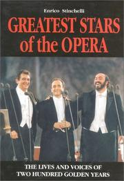 Cover of: Greatest Stars of the Opera | Enrico Stinchelli
