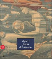 Cover of: Papiers peints art nouveau