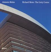 Cover of: Richard Meier | Antonia Mulas