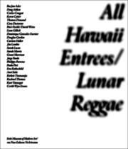 Cover of: All Hawaii Entrees: Lunar Reggae