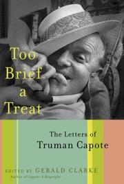 Cover of: Too brief a treat