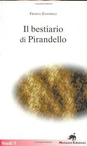 Cover of: Bestiario Di Pirandello